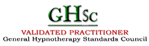 General Hypnotherapy Standards Council Logo, Female Hypnotherapist Chichester